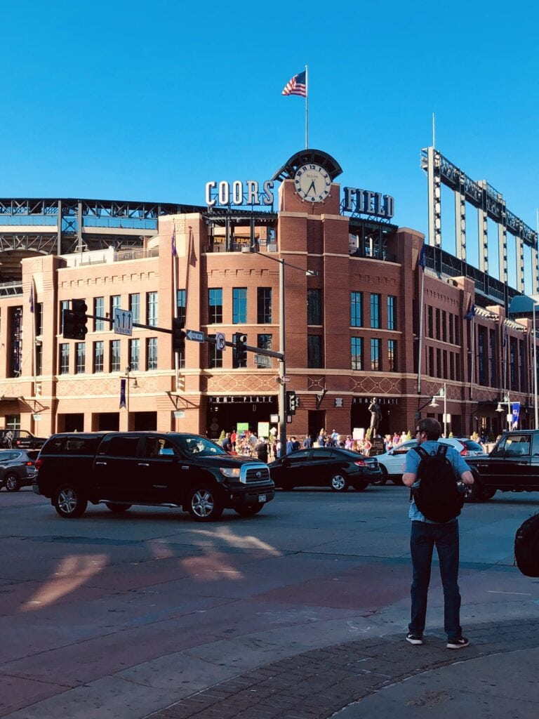 photo of Coors field in Denver CO